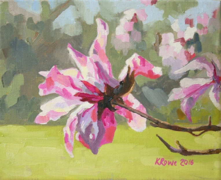 Lily Magnolia, 35x52cm framed, £175
