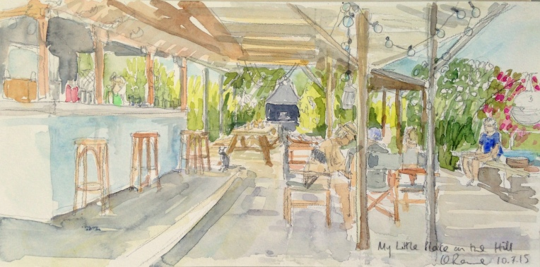 Kefalonia watercolours
